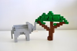 Elephant and Safari Tree